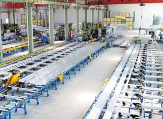鋁型材生產車間