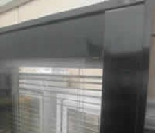 不銹鋼隔斷系列:6CM雙玻百葉隔斷